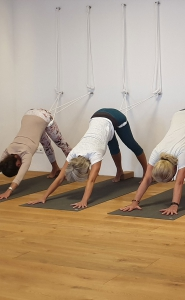 Yoga Workshop Knie II und Hüftöffnung im Moksha Yoga Studio in Neustadt