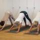 Yoga-Workshop Knie und Hüftöffnung im Studio für Iyengar Yoga und Meditation, Neustadt