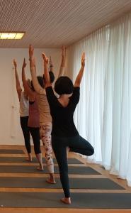 Yoga Workshop Standhaltungen im Moksha Yoga Studio Neustadt