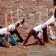Trikonasana, Studio für Iyengar Yoga, Neustadt