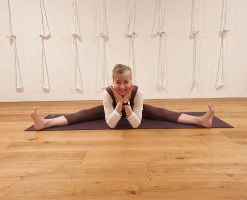 Upavistakonasana, Studio fuer Iyengar Yoga, Neustadt